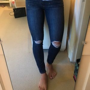 Paige Ripped Knee Jeans